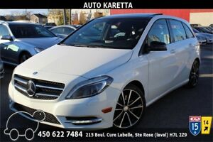 2013 MERCEDES B250 SPORT CAMERA,TOIT PANORAMIQUE,XENON,MAGS 18''