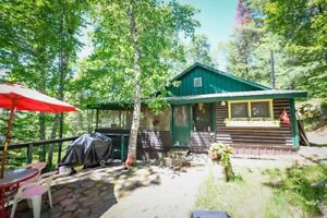 CUTE LOG CABIN WITH LONG BEACH, SUMMER SPOTS STILL AVAILABLE