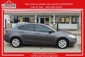 2014 Dodge Dart Aero TURBO FUN!Low kms REDUCED FINANCING FOR ALL