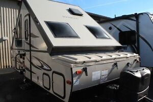 2017 Forest River Rockwood Premier A122S Travel Tr