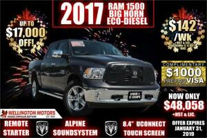 2017 Ram 1500 SLT Big Horn / Luxury Group / Heated Seats ....