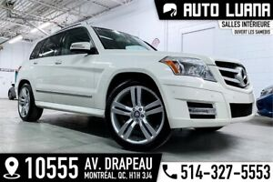 "2011 Mercedes GLK 350 4x4/MAG 20""/PANORAMIQUE/KEYLES/BLTH/136000"