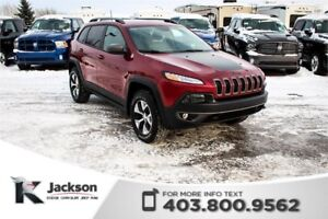 2017 Jeep Cherokee Trailhawk - Rear View Camera, Bluetooth