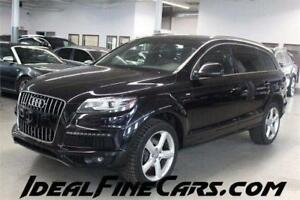2013 Audi Q7 SLINE/NAV/DVD/PANO/PUSH START