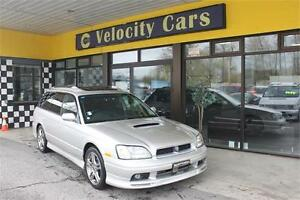 1998 Subaru Legacy Wagon GT 4WD Twin-Turbo 86K Low Mileage