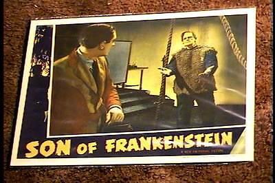 SON OF FRANKENSTEIN 1938 LOBBY CARD #2 UNIVERSAL HORROR BORIS KARLOFF