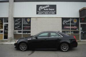 2010 CADILLAC CTS AWD **LEATHER**TWO SETS OF RIMS** 4 IN STOCK**