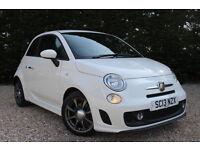 Abarth/Fiat 500 ABARTH (white) 2013