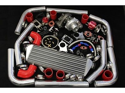 CHEVY C10 C/K SILVERADO 1500 2500 3500 T3/T4 TURBO CHARGER 25 PSI PIPING KIT