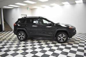 2015 Jeep Cherokee Trailhawk 4x4- UCONNECT * LEATHER * NAV