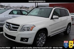 2010 MERCEDES GLK 350 4MATIC NAVIGATION/TOIT PANORAMIC/BLUETOOTH