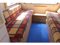 Cute vintage caravan ideal for upcycling to use for personal or business use