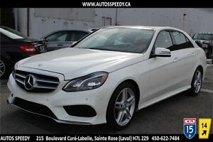2014 MERCEDES E350 4MATIC  PREMIUM/NAVIGATION/PANORAMIC/CAMERA