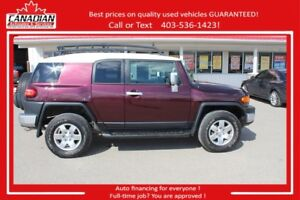 2007 Toyota FJ Cruiser 4x4 $REDUCED FINANCING FOR ALL!
