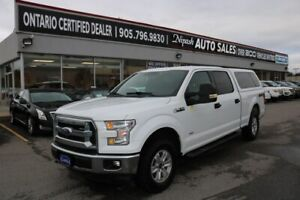 2017 Ford F-150 XLT 4X4, REMOTE STARTER,CAMERA NO ACCIDENTS ONT