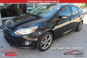 2013 Ford Focus SE Sport automatic 4 dr sedan 75,000K NOW $9,900