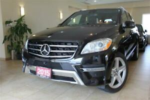 2015 Mercedes-Benz ML350 BlueTEC 4Matic Navi|360Cam|Panoroof!