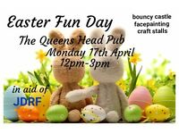 The Queens Head pub easter fun day