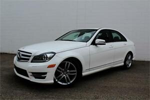 2013 MERCEDES C300 4MATIC | NAV | CERTIFIED
