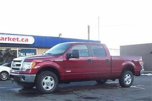 2014 FORD SUPERCREW 4X4 *EBOBOOST, FACTORY WARRANTY*