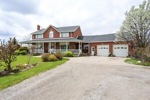 37 ACRE HOBBY FARM WITH GORGEOUS HOME CLOSE TO KW&GUELPH