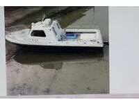 FISHING BOAT, BRIDLINGTON HARBOUR. MARINE INSTALLATION SOUTER FAST FISHER