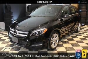 2015 MERCEDES B250 4MATIC/AWD NAVIGATION, LED, PARKING SENSOR