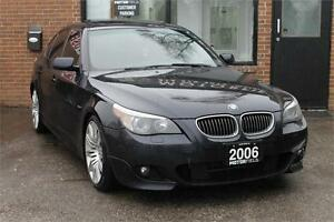 2006 BMW 5 Series 550i //M PKG *NO ACCIDENTS | CERTIFIED*