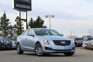 2017 Cadillac ATS Luxury 2.0T AWD| Sun| Nav| Heat Leath/Whl| Bos