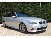 BMW 5 SERIES 535D M SPORT (silver) 2006