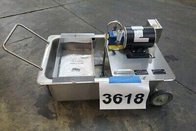 3618 Vulcan Portable Fryer Oil Filtration System Reusable Filter Modelmf-1