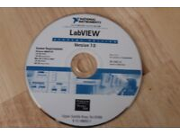 LABVIEW 7.0 STUDENT ED WIN & MAC (OS X 10.2 OR LATER) CD - USED