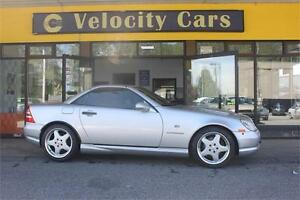 2000 Mercedes-Benz SLK230 AMG Convertible only 53K! Supercharged