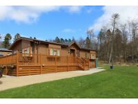 Spectacular 2014 Prestige Reprise Lodge for sale at Percy Wood Country Park in Northumberland
