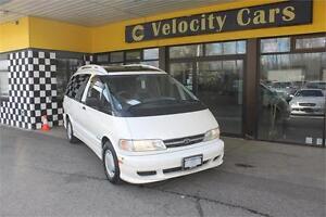 1998 Toyota Previa Estima 66 KMs AWD 8-SEAT Twin-sunroof