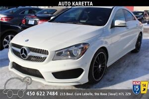 2014 MERCEDES CLA250 4MATIC NAVIGATION, CAMERA, PREMIUM SPORT