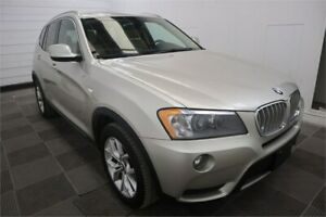 2013 BMW X3 xDrive28i AWD! Leather! Heated Seats! Clean Title!