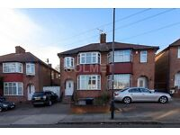 Large 4 bedroom semi-detached house with garden and parking – NW9