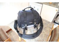 Camera bag with Canon logo
