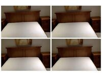 m&s double beand side cabinets and memory mattress sold together or separate