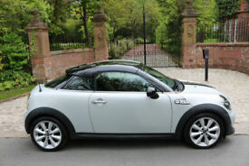 2014 MINI COUPE COOPER SD DIESEL CHILI PACK 1 PREV OWN 34,001 MILES STUNNING
