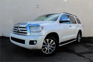 2011 TOYOTA SEQUOIA PLATINUM | CERTIFIED |LOADED | 7 SEAT | V8 |