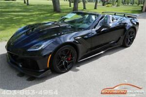 2019 Chevrolet Corvette ZR1 Convertible 3ZR \ 7 SPEED MANUAL