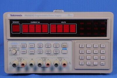 Tektronix Ps2521g Power Supply Dc 130w 20v2.5a Programmable