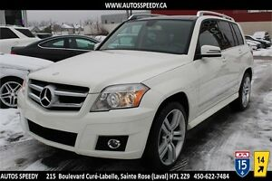 2010 MERCEDES-BENZ GLK 350 4MATIC NAVIGATION / TOIT PANORAMIC
