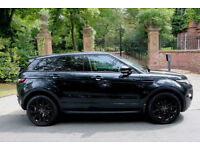 61 PLATE RANGE ROVER EVOQUE DYNAMIC AWD AUTO 5 DOOR STEALTH BLACK PACK