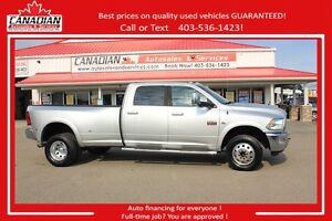 2012 Ram 3500 Laramie LOWS KMS! FINANCING FOR ALL!