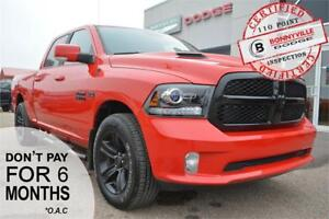 2018 Ram 1500 Night- GREAT CONDITION, UNDER 6,000 KMS