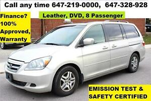 2005 Honda Odyssey EX-L LEATHER SUNROOF DVD CERTIFIED E-TEST