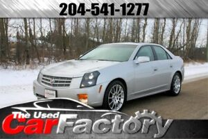 2006 Cadillac CTS Low Km, Sunroof, Leather, Accident Free